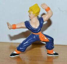 "VINTAGE DRAGON BALL Z GOKU MINI ACTION FIGURE 1989 SUPER SAIYAN 2.25"" TALL"