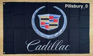 Cadillac 3x5 ft Flag Car Garage Banner Escalade XT6 CT5