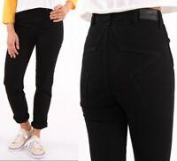 Wrangler Damen Jeanshose Retro Slim Black Star Schwarz W24 - W30