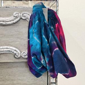 Handmade Tie Dye Lightening Soft Headband Cotton NWT New