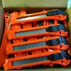 30 Stück Cutter Cuttermesser 18 mm Teppichmesser  Paketmesser Kartonmesser DHL!
