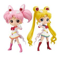 Sailor Moon & Chibiusa Figure Qposket Banpresto Prize Japan Set of 2