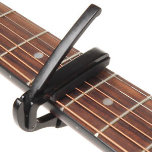 1Pc Quick Change Tune Clamp Key Triggers Capo For Acoustic Electric Guitar Halls
