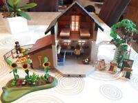 Playmobil 5120 - Jeu de construction - Maison des fermiers et marché