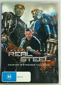 Real Steel (DVD 2011) Hugh Jackman PAL Region 4 Free Postage