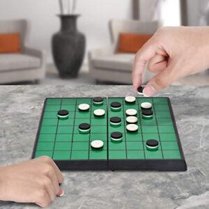 Magnetic Portable Flip Chess Folding Reversi Othello Board Chess Standard Game