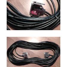 25m original Kvant Premium laser ILDA cavi, Nero, Doppio Schermato