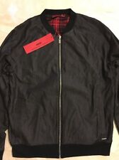 HUGO BOSS DANLEY REVERSIBLE Jacket Black/Lumberjack Mens EXTRA LARGE Retail $255