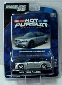 Virginia State Police Greenlight Dodge Charger no Light Bar in custom blister