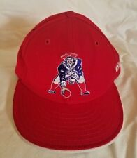 New England Patriots Pat Patriot Old logo New Era Fitted NFL hat