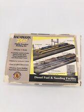 N scale Bachmann Plus Diesel Fuel and Sanding Facility - No. 15162 (Read Desc)