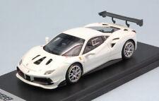 Ferrari 488 Challenge Bianco Avus 100 1:43 Model LOOKSMART