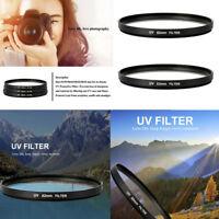 52-82mm UV Ultra-Violet Filter Lens Protector For Camera Canon Sony Nikon Hot
