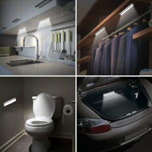Wardrobe 6 LEDs Motion Sensor Light Cupboard Bed Lamp LED Under Cabin Night PIR