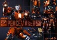 Hot Toys Peacemaker Iron Man Mark XXXVI 36 MMS258 HOT TOYS Exclusive New! Sealed