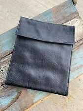 Travel Wallets/J.P. Ourse & Cie Black Leather Cross Body Wallet Passport Bag
