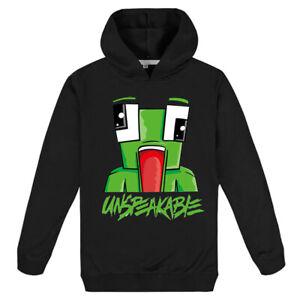 Unspeakable Kid Hoodie Hooded Sweatshirt Frog Printed Casual Jumper Pullover Top