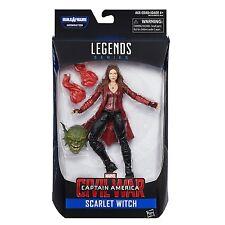 """Marvel Legends 6"""" Civil War SCARLET WITCH Movie Figure ABOMINATION BAF NEW"""
