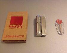 Austria IMCO Triplex 6700 Windproof Petrol Lighter w/ Flints - USA Shipping