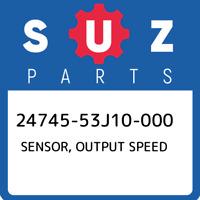 24745-53J10-000 Suzuki Sensor, output speed 2474553J10000, New Genuine OEM Part