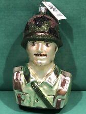 Nwt Slavic Treasures Army Christmas Ornament All You Can Be Military Man Nib
