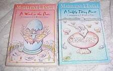 2 by Madeleine L'Engle Wind in Door, Swiftly Tilting Planet Fantasy Gr. 4-6