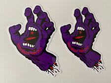 "SCREAMING HAND  STICKER SET BOGO"" 2-4-1 SANTA CRUZ STICKER VINTAGE SKATEBOARD"