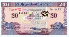 Northern Ireland Ulster Bank P-342 20 pounds 2007 UNC