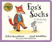 Tales from Acorn Wood: Fox's Socks SHELF WORN by Julia Donaldson Board book 2011