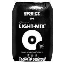 Sustrato Ecologico BioBizz LIGHT-MIX 50 Litros, Bio Bizz LightMix TIERRA, Grow