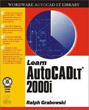 AutoCAD LT Library: Learn Autocad LT 2000I by Ralph Grabowski (2000, CD-ROM /...