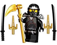 NEW LEGO NINJAGO COLE ZX MINIFIG figure minifigure 9444 9447 9449 black ninja