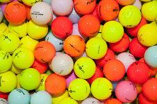 50 Mixed Colour Golf Balls Near Mint Grade Golf Balls