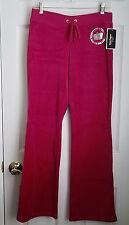 Juicy Couture Velour Track Pants Black Label size L