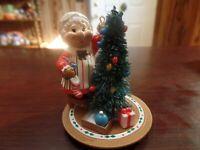 "3 1/4"" Tall National Rennoc Mrs. Claus Decorating Tree Ornament #4605"