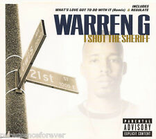 WARREN G - I Shot The Sheriff (UK 4 Track CD Single)