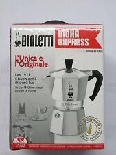 Bialetti Moka Express 06857 Stovetop Espresso Maker Pot Coffee Latte 1 CUP