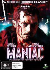 Maniac (DVD, 2013)*R4*R Rated Horror*Elijah Wood*