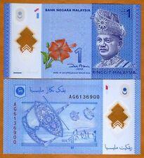 Malaysia, 1 Ringgit, ND (2012), Pick 51, UNC > Polymer