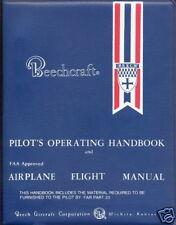 BEECHCRAFT BONANZA F33A / F33C ACROBATIC  FLIGHT MANUAL