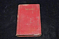 The New Testament - American Bible Society, New York 1880 (S5729)