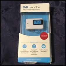 BACtrack Go Keychain Breathalyzer Portable Keyring Breath Alcohol Tester White