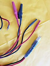 Harris Fluke Butt Test Set Adapter Co Cord For All Ts22 Series Ships Wirldwide