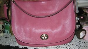 Coach Pebble leather Turnlock Hobo NWT 24771     M-429