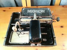 Antique AEG Mignon Model 4 Typewriter From 1932