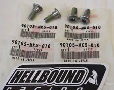 New OEM Honda TRX400ex 400ex rear brake disc mounting bolt set (4) 1999-2014