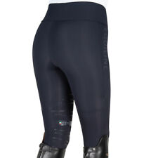 Equiline Lexy Knee Grip Riding Tights Black Extra Small