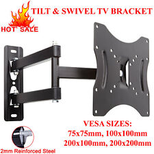 TV WALL BRACKET TILT SWIVEL FOR 10 15 20 23 25 30 32 38 40 42 PLASMA LCD LED 3D