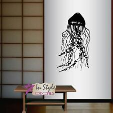 Vinyl Decal Jellyfish Animal Sea Ocean Bathroom Bedroom Art Wall Sticker 775