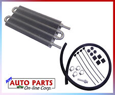 HEAVY DUTY UNIVERSAL AUTO TRANS COOLER KIT HONDA CHRYSLER CADILLAC GMC JEEP RAM